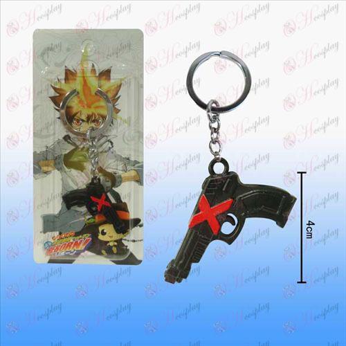 Reborn! Accessories Wa Lian pistol Keychain