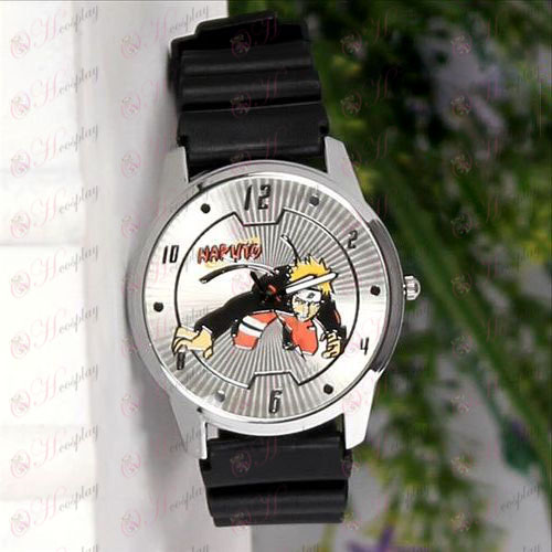 ナルトマークサークルライン腕時計