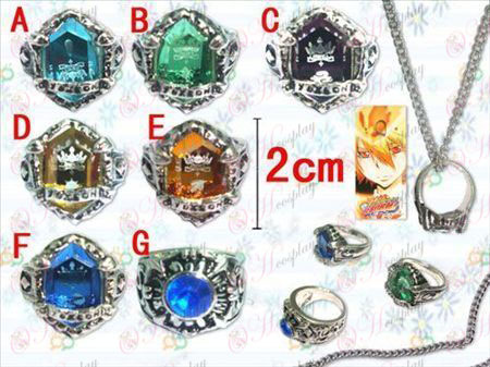 Reborn! Accessories gemstone rings necklaces (seven) months
