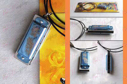 Tutoring harmonica necklace