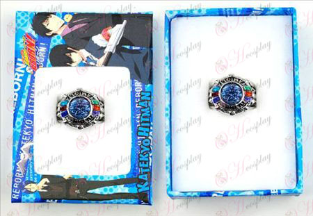 Reborn! Accessories prototype two-generation sapphire ring