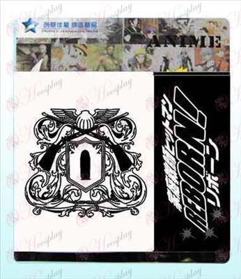 Reborn! Accessories logo snap wallet