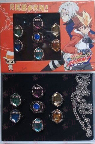 Eight Reborn! Accessories Ring Set (Box)