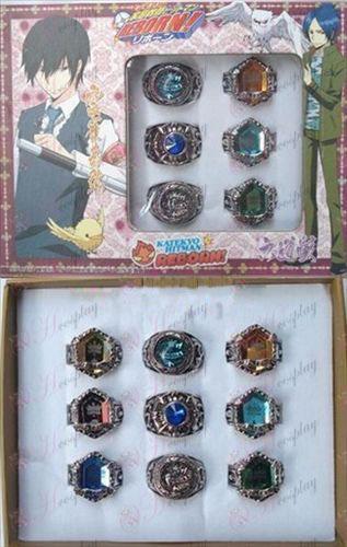 9 Reborn! Accessories Ring Set