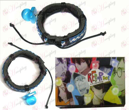 Tutoring blue pacifier special edition leather strap
