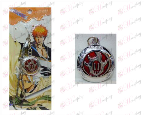 Bleach Accessories round red fire marked Strap