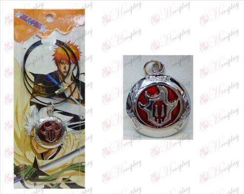 Bleach Accessories Round fire red marked wire chain