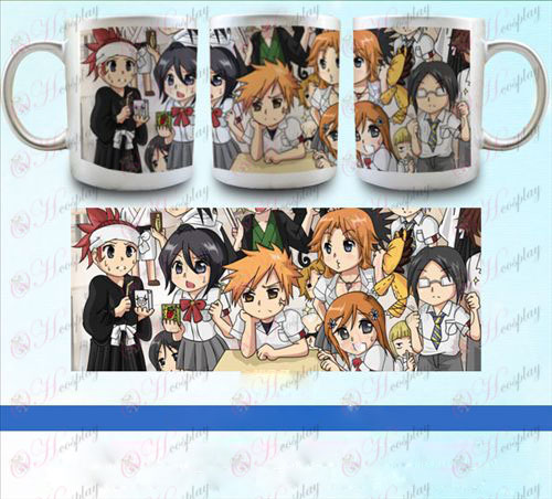 YB088-Bleach Accessories pearlescent silver cup