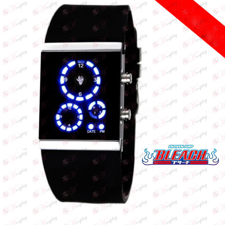 Bleach Accessories broken surface LED watch Korean version of the black flag