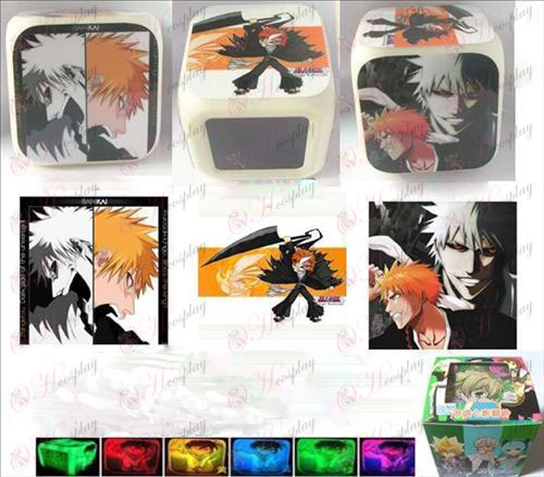 Bleach Accessories-one nursing three surface color colorful alarm clock