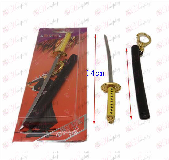 DBleach Accessories quadruple captain Lie Mao flower clasp knife sheath