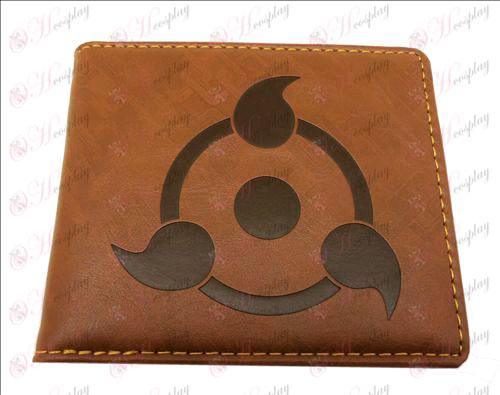 Naruto write runda ögon plånbok (SR 1)