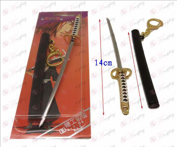 DBleach Príslušenstvo Ichimaru strieborná pracka nôž plášť Gunslinger