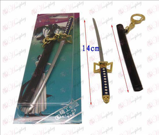 DBleach Accesorios Ayase río Yumichika vidrio pavo hebilla funda de cuchillo