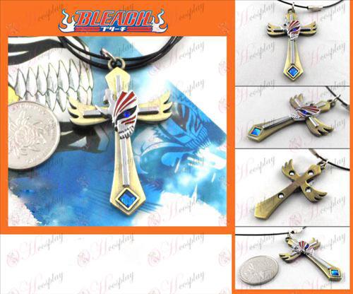 Broken surface necklace bronze