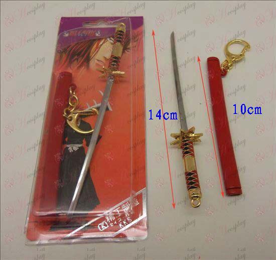 DBleach Accessories white sheath knife Buckle (Red)