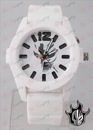Bleach Accessories colorful flashing lights Watch - White