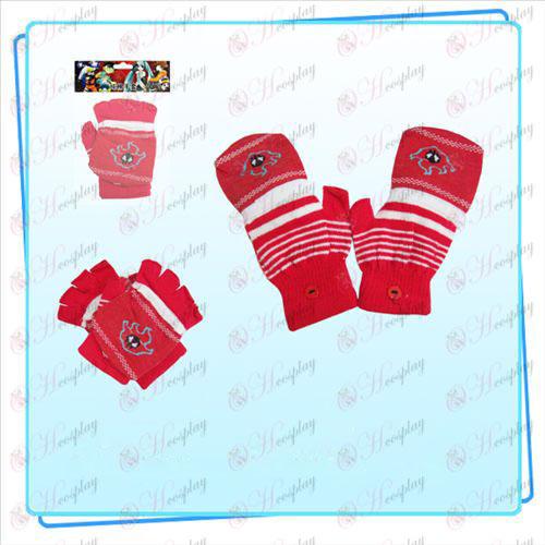 Bleach Tilbehør Fire dual handske (rød)
