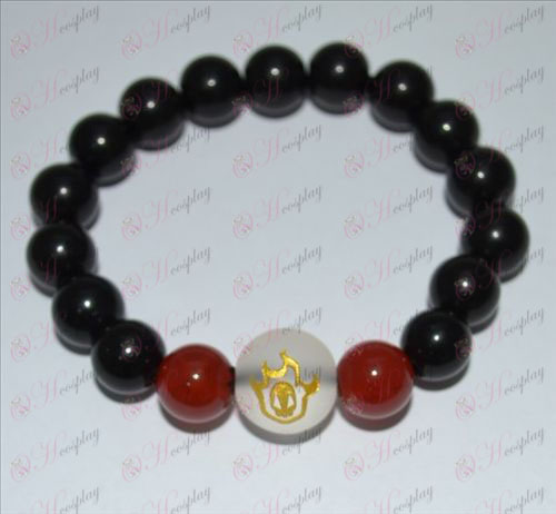 Bleach Accessories false fire sign Agate Bracelet