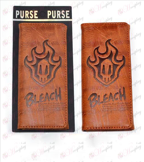 Long fold wallet embossed leather (Bleach Accessories)