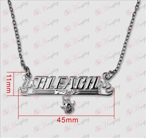 Bleach Accessories Theme mark 925 silver necklace