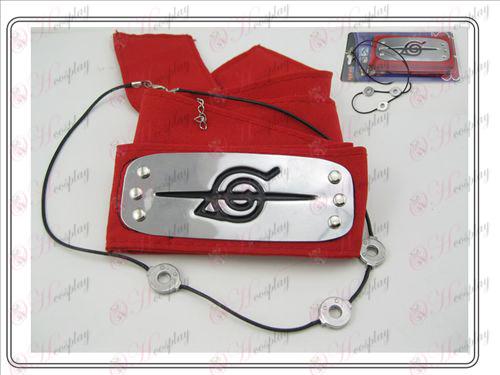 Naruto Itachi colar + vermelho rebelde paciência (terno)