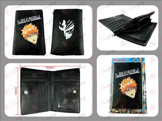Bleach Accessories Long zipper wallet embossed