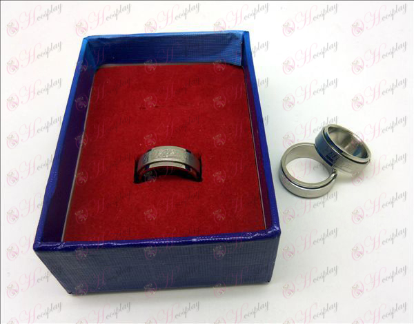 D boxed Bleach Accessories stainless steel rotating ring (a)