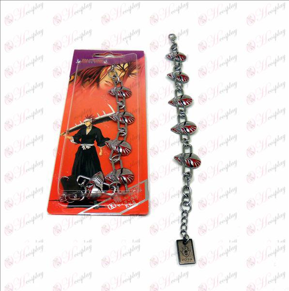 DBleach Accessories Ichigo virtual face metal bracelet