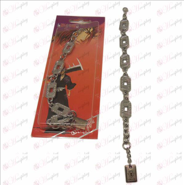 DBleach Accessories logo metal bracelet