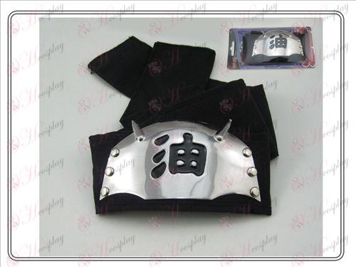 Naruto oil flag headband (black)