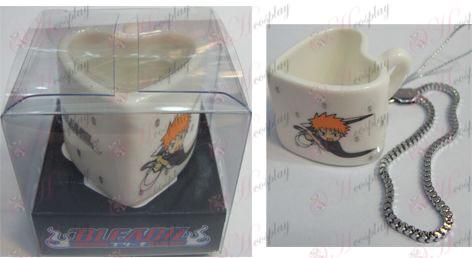 Bleach Accessori Strap tazza di ceramica a forma di cuore