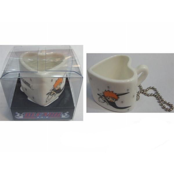 Bleach Accessories bag pendant heart-shaped ceramic cup