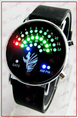 Colorful Korean fan LED watches - Bleach Accessories