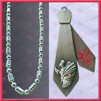 Bleach Accessories-Ichigo Arrancar tie necklace (movable)
