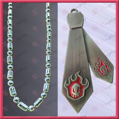 Bleach Accessories-blur Tie Necklace (movable)