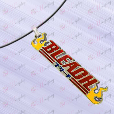 Bleach Accessories-English titles Necklace