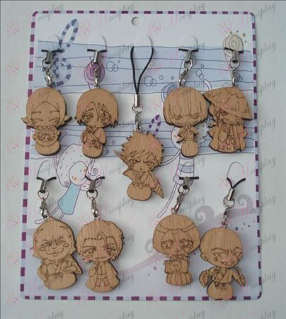 9 Bleach Accessori Legno Strap Carving (9 / set)