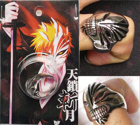Bleach Accessories Ichigo Full Ring black blur