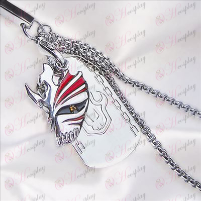 Bleach Accessories-breaking face dual card mobile phone chain