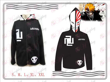 Bleach Accessories Kurosaki Ichigo virtual face casual wear (black)