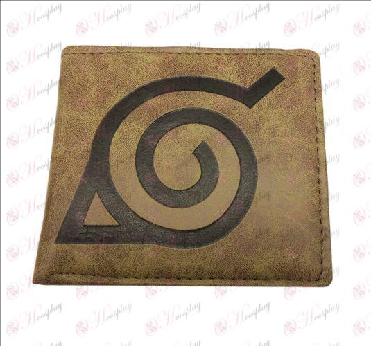 Naruto Konoha fosco carteira