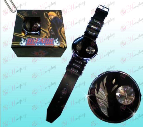 Bleach Accessories broken face black watches