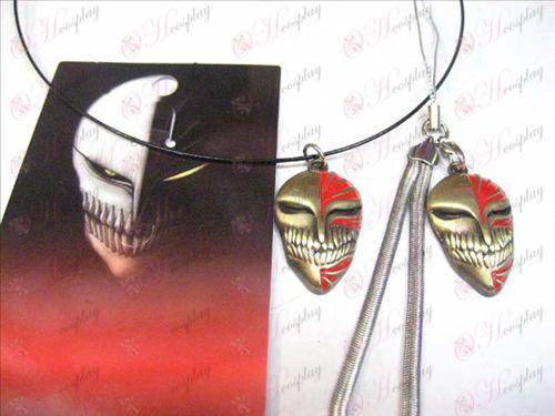 Bleach Accessories bronze necklace virtual face