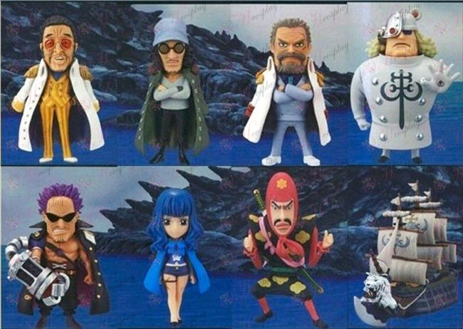 83 on behalf of eight One Piece Accessories Doll