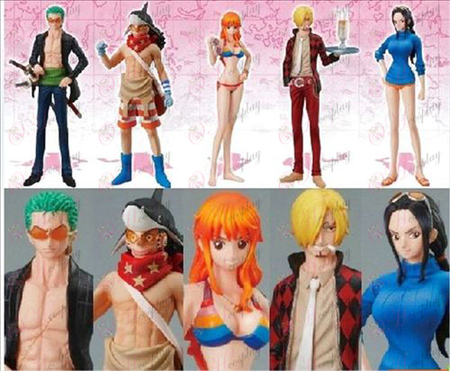82 Generation 5 malleja One Piece Tarvikkeet Aseta Doll