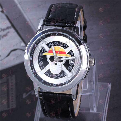 One Piece Accessories Luffy suspension calendar watch