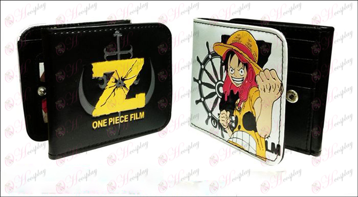 Pirate Luffy fold wallet