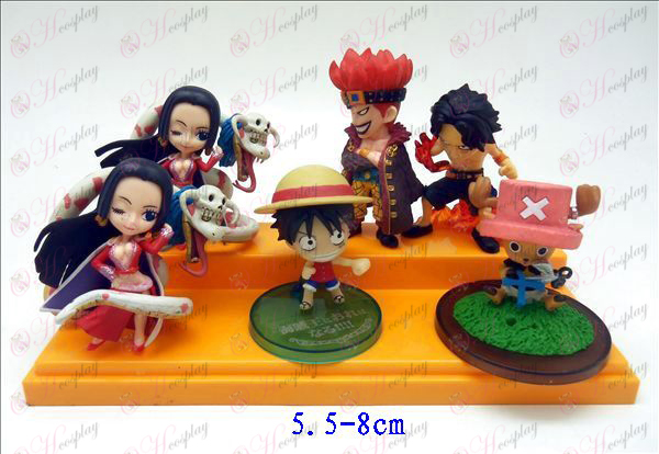 Genuine 6 One Piece Accessories doll stand (3611)