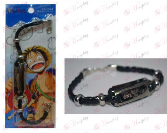 One Piece Tillbehör Shuangpai läderarmband